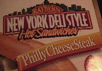 Frozen sandwiches:  New York Deli Style Philly CheeseSteak.