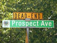 Dead End - Prospect Avenue, Nashua, NH