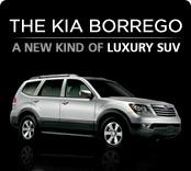 Advertisement:  Kia Borrego.